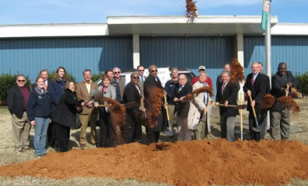 green view advanced manufacturing center groundbreaking